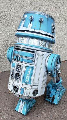 Lego Robot, Robots, Planetary System, Star Wars Droids, Star Wars Fan Art, Star Wars Characters, Sci Fi, Character Design, Bb8