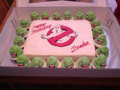 Braden's ghostbuster cake
