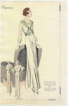Thunderhorse Vintage! - 1930s Fashion Plates!
