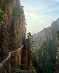 Huang Shan mountain (yellow mountain0 China - sunday drive?