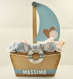 Baby Shower Gifts, Baby Gifts, Origami Boat, Gift Bouquet, Balloon Flowers, Nautical Party, Paper Crafts, Diy Crafts, Baby On The Way