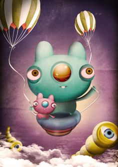 BALLOONBO - COOL INVADERS SERIES on Behance