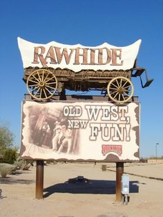 RAWHIDE!  Rawhide Western Town and Steakhouse is celebrating 39 years of providing quality 1880's style family entertainment.