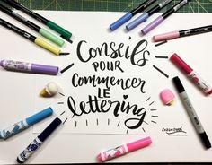 Quels feutres pour commencer le lettering? Vidéo tutoriel pour découvrir les feutres TOMBOW le brush lettering avec des feutres CRAYOLA