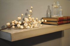 Concrete Floating Shelf by fmcdesign on Etsy, $195.00. ¡\/\/\/\!