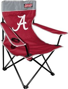 NCAA Team Coleman Folding Chair With Carrying Case