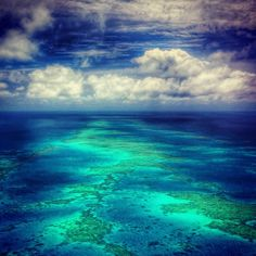 Flying over the Great Barrier Reef was a thrill of a lifetime. What a thrill exploring this beauty!