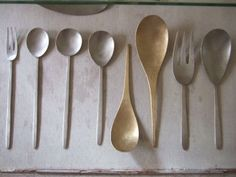 To know more about 坂野友紀 カトラリー, visit Sumally, a social network that gathers together all the wanted things in the world! Featuring over 18 other 坂野友紀 items too! Love Spoons, Metal Forming, Kitchenware, Tableware, Wooden Kitchen, Ceramic Plates, Material Design, Kitchen Utensils, Home Deco