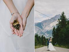 Rustic Outdoor Wedding // Sarah+Leigh // Mountain Wedding