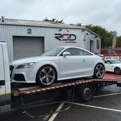 Another awesome spec'd Audi TT-RS Suzuka Grey with Mag Ride = sweet choice of 4 TT-RS's.  #Audi #Tt #rs #ttrs #sline #bose #rsd #rsdirect #rsdirectsupplied #rsdirectspecialistcars #yate #bristol