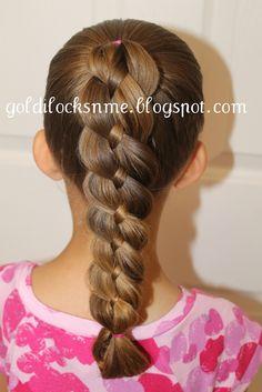 Hairstyle Ideas |braid on braid