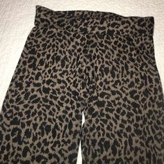 Leopard Thick Sweater Material Tights made in Colo Leopard Thick Sweater Material Tights made in Colombia Ela Pants Leggings