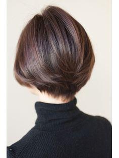 ひし形シルエットボブ - 24時間いつでもWEB予約OK!ヘアスタイル10万点以上掲載!お気に入りの髪型、人気のヘアスタイルを探すならKirei Style[キレイスタイル]で。