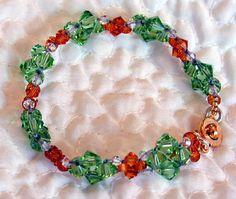 1. Crystal Hugs Bracelet - Marilyn Gardiner Jewellery Design