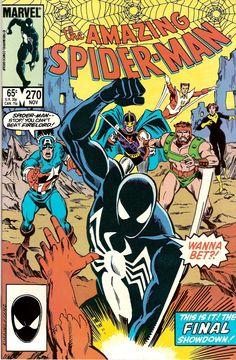 the Amazing Spider-Man (vol.1) #270 by Ron Frenz & Joe Rubinstein