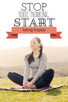 Banish toxic thinking with these mindful meditation tips.