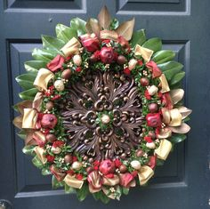 Biedermeier style wreath Mohican Flowers Cooperstown NY