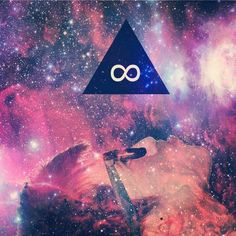 triangle art galaxy