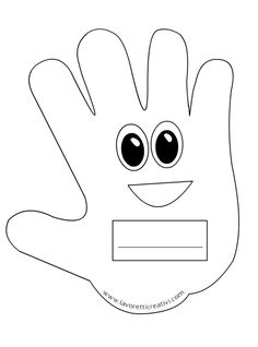 Mani portanome da attaccare su un cartellone il primo giorno di scuola. IDEE ADDOBBI ACCOGLIENZA SCUOLA Mani portanome Materiale: cartellone pennarello ner