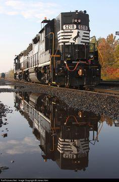 RailPictures.Net Photo: NS 5218 Norfolk Southern EMD GP38-2 at Enola, Pennsylvania by James Kerr