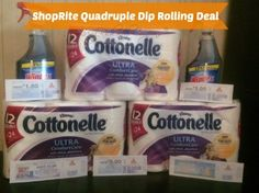 Better Than FREE Household Products at ShopRite - Plus a Quadruple Dip Deal!  - http://www.livingrichwithcoupons.com/2014/03/multiple-double-dips-shoprite.html