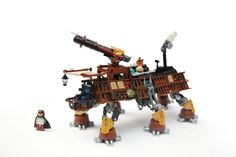 All Terrain Tactical Enforcer (AT-TE) lego star wars steampunk Lego Spaceship, Lego Robot, Lego Mecha, Lego Bionicle, Star Wars Games, Lego Star Wars, Steampunk Lego, Lego Creator Sets, Lego System
