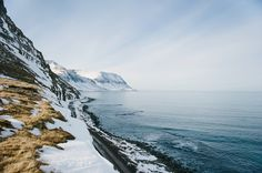 Arctic Ocean. Sudureyri, Iceland // Jessica Bossé Photography