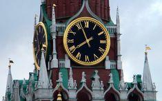 The Kremlin Clock is a historic clock on the Spasskaya Tower of the Moscow Kremlin.