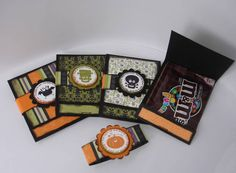 Halloween matchbook treat set