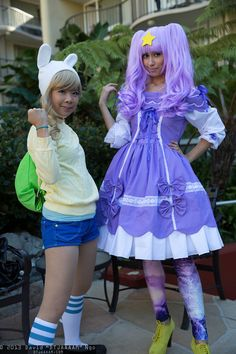 "Fionna and LSP, Anime Los Angeles 2013 - Friday - David ""DTJAAAAM"" Ngo"