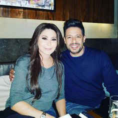 """85.3k Likes, 688 Comments - Elissa (@elissazkh) on Instagram: """"Having dinner with the sweetest person ever #mohamedhamaki"""""""