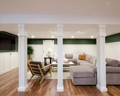 28 Support Poles Ideas In 2021 Finishing Basement Basement Remodeling Basement Poles