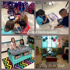 Glitzy In 1st Grade