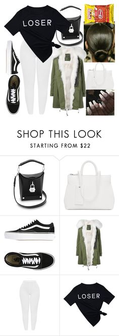 """""""Loser"""" by goodgirldeja ❤ liked on Polyvore featuring Marsèll, Vans, Mr & Mrs Italy and MyFaveTshirt"""
