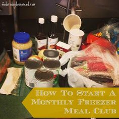 Confessions of a Stay-At-Home Mom: How To Start a Monthly Freezer Meal Club