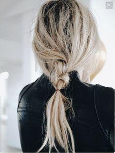 loose braid hairstyles simple plaits             #hairgoals #hairstyles #haircolor #hairfashion #gorgeoushair #hair
