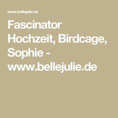 Fascinator Hochzeit, Birdcage, Sophie - www.bellejulie.de