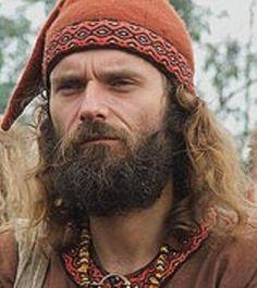 Viking/Slavic reenactor at the Wolin Festival 2006... The way a REAL man should look, and not like all those faked egghead reenactors!