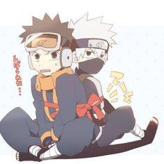 Read 4 from the story Galería: Obito y Kakashi. Naruto Sharingan, Naruto Kakashi, Obito Kid, Naruto Cute, Naruto Funny, Gaara, Anime Naruto, Boruto, Anime Characters