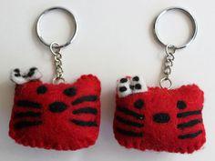 2 Hello Kitty Keychains