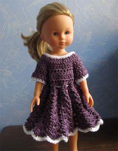 Passion Poupées: Une robe pour Camille