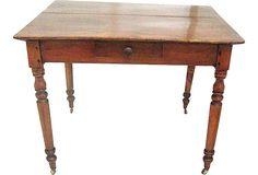 19th-C. Pine Desk