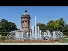 Mannheim, die Universitätsstadt - Sehenswürdigkeiten - YouTube