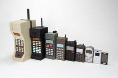 La evolución del teléfono móvil por Kyle Bean | #Phone #MobilePhone