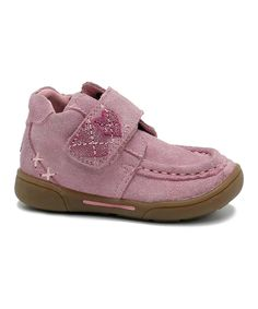 Look at this Maki Pink Gail Suede Sneaker on #zulily today!