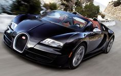 Another black buggati
