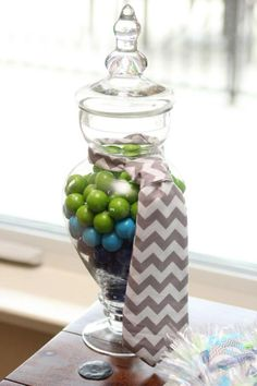Little Gentleman Baby Shower via Kara's Party Ideas KarasPartyIdeas.com #boy #guy #tie #baby #shower #little #man #gentleman #party #ideas