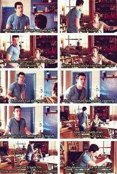 Nick and Schmidt have the best relationship...