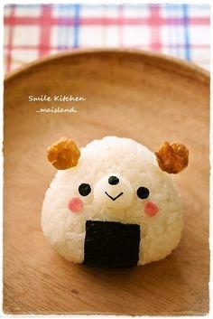 Onigiri Bear for bento