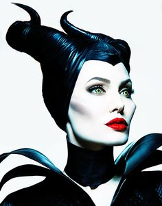 She was brilliant as Maleficent. And her makeup was stunning.